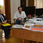 Συνάντηση με Σαμπατακάκη και επιθεωρητές υγείας