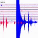 καταγραφή σεισμού