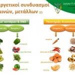 2 ευεργετικοί συνδυασμοί βιταμινών, dna ανοσοπ